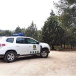 Agentes medioambientales vigilan la Fuente del Moro