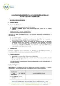 thumbnail of MORATORIA CREDITOS HIPOTECARIOS VULNERABILIDAD