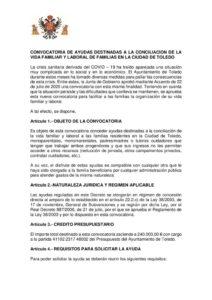 thumbnail of Convocatoria de ayudas conciliación