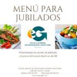 Información Menús Escuela Superior de Gastronomía y Hostelería de Toledo